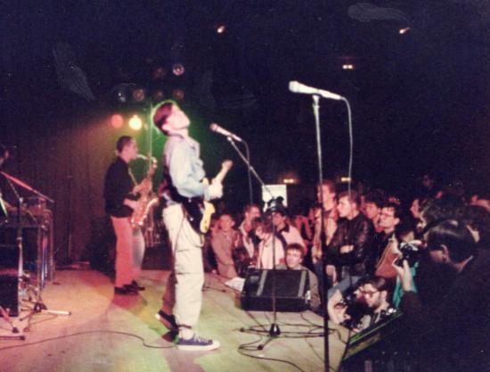 Les Fils en concert 1985